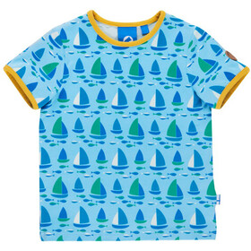 Finkid Tuumi T-Shirt SS Kids water/freesia